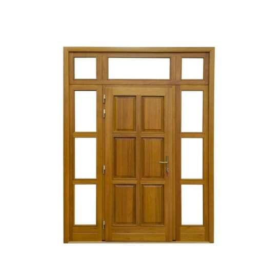 China WDMA Cheaper Price Of Wood Door In Jamaica Sliding Doors For Sale