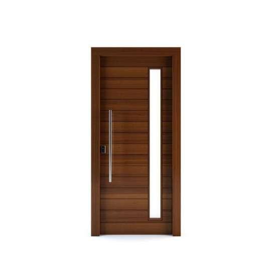 WDMA China Double Wooden Door Carving Designs for Villas Solid wood Entry Door