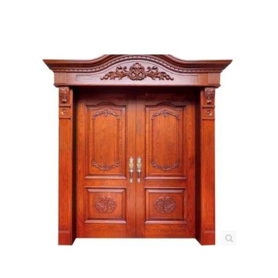 WDMA Double Wooden Door Carving Designs