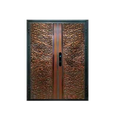 WDMA China Modern Aluminium Security Double Leaf Swing Door Main Gate Design Cast Aluminium Door Price