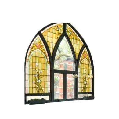 WDMA Church Aluminium Windows Grill Design In Pakistan