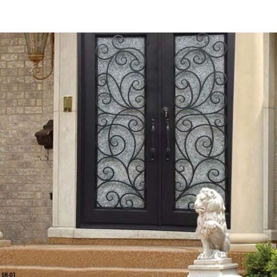 China WDMA Arched Iron Door