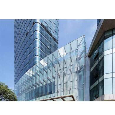 WDMA Detail Alucobond AluminumPanel Spider Facade System Glass Curtain Wall Supplier