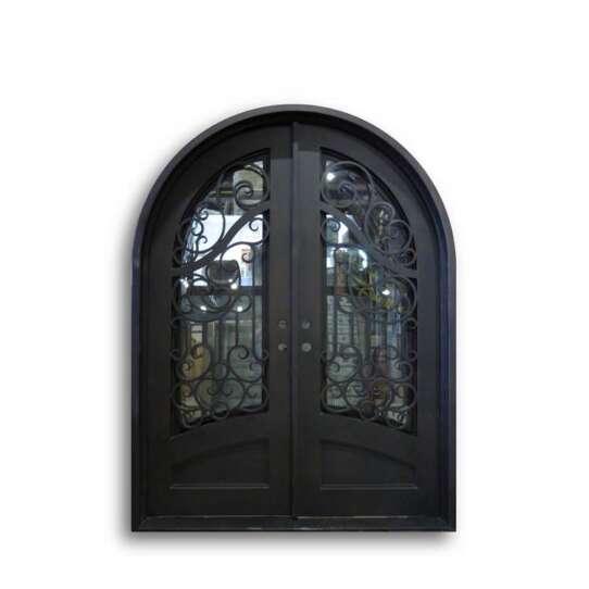 WDMA double door iron gates