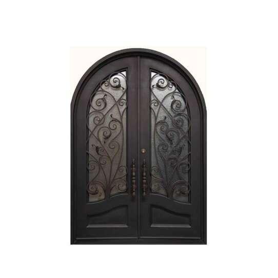 China WDMA double door iron gates