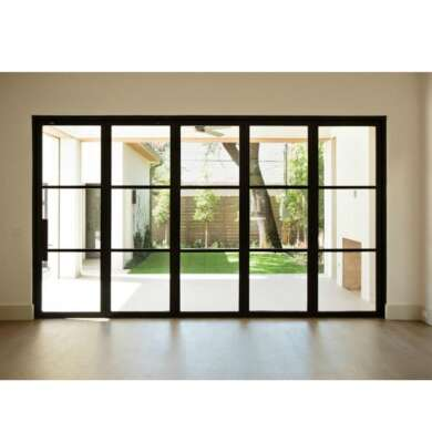 WDMA European Design Thermal Break Folding Pocket Patio Screen Doors