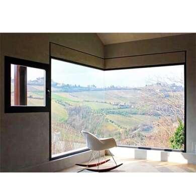 WDMA European Profile Aluminum Single Glazed Fixed Window