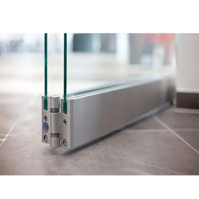 WDMA European Standard Commercial System Frameless Folding Glass Door