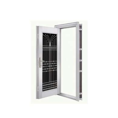 WDMA Exterior Entrance Doors Residential Stainless Steel Modern Security Doors