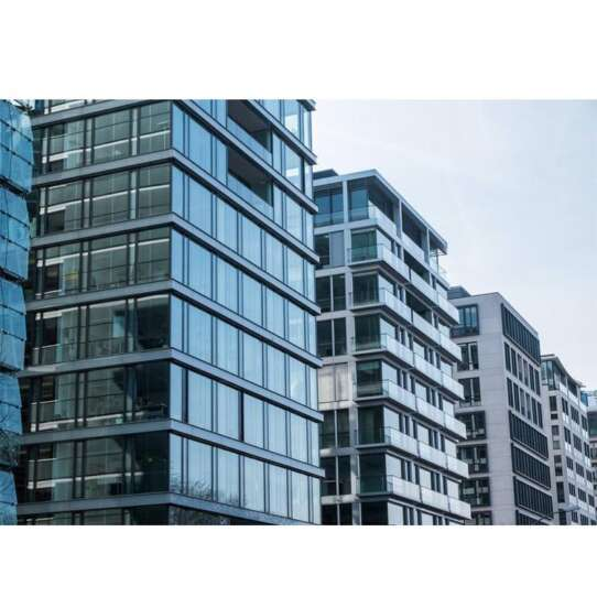 China WDMA Fabric Cheap Exposed Frame Low- E glass Aluminium Curtain Wall Design
