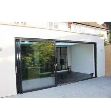 WDMA Finished Surface Finishing And Sliding Open Style Aluminium Kitchen Glass Single Door Interior Pocket Door