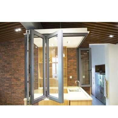 WDMA Folding Aluminum Window Corner Door Aluminum American Style