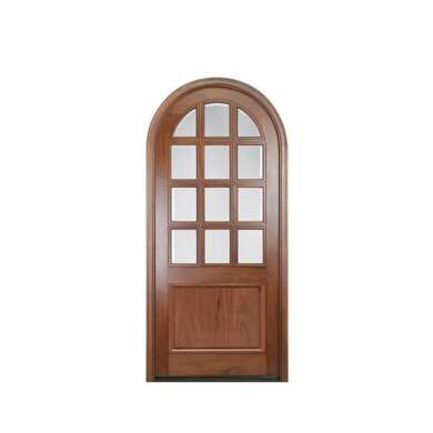WDMA Foreign Modern Kitchen Sold Cherry Solid Wood Interior Door With Jalousie Design For Bathroom And Stall