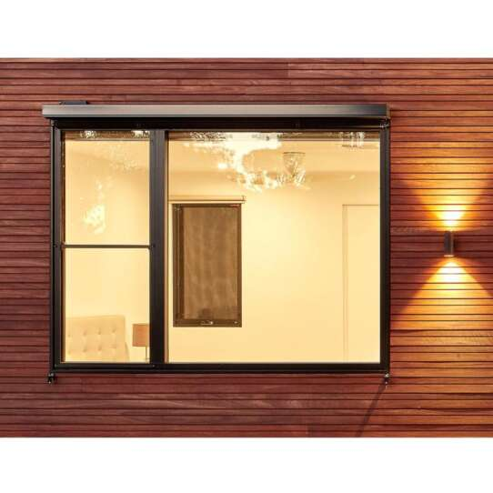 China WDMA Glider Slider Sliding Frameless Window Sashless Window