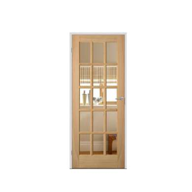 WDMA Guangzhou Big Old Antique Curved Double Wooden Arched Door With Window For Outside Models