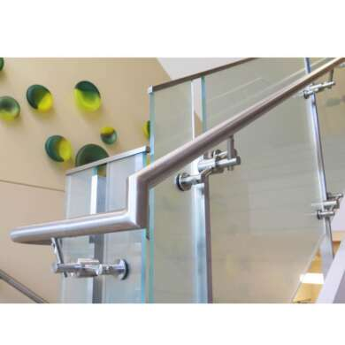 WDMA Indoor Balcony Galvanized Pipe Steel Pipe Stair Handrail For Elderly