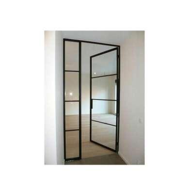 WDMA Israel Aluminium Secure Bulletproof Glass Door Shop Front Casement Door Price