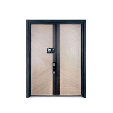 WDMA Luxury Front Garden Door Aluminium Alloy Extrusion French Greenhouse Art Door