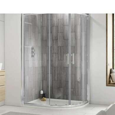 WDMA Luxury Rose Gold Frame Complete Shower Room Shower Cabin Shower Enclosure