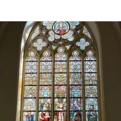 WDMA Myanmar Aluminium Large Glass Church Window Gothic Design With Transom