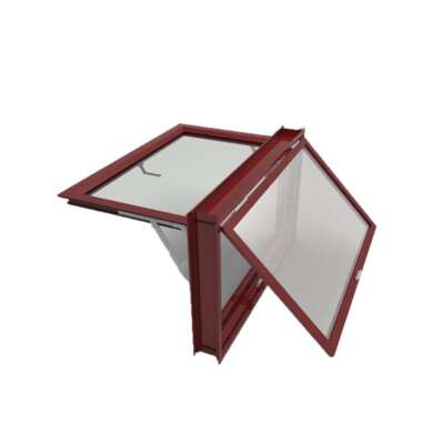 WDMA New Products Australia Wers Standard Double Glass Awning Window