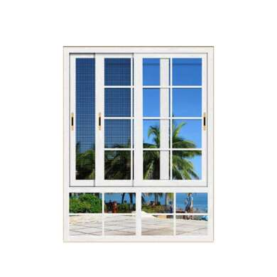 WDMA Newest Wood Colour Aluminum Profile Sliding Window Grill Design Track System For Sales