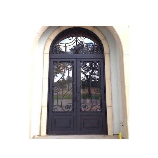 WDMA wrought iron security door