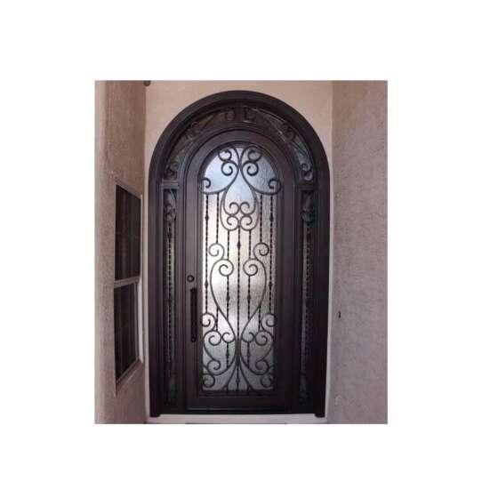 China WDMA wrought iron security door
