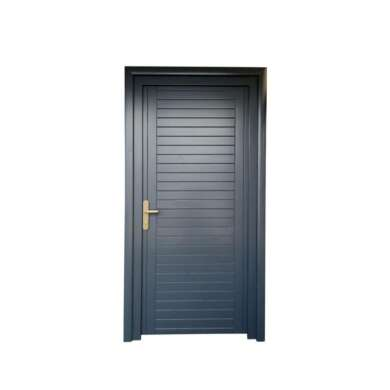 WDMA Oak Interior Internal Solid Wood Swing Door With Full Or Half Glass Design For Office And Hospital