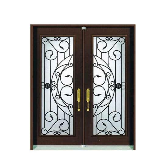 China WDMA Pictures Of Mexico Exterior Wrought Iron Door Main Classical Castle Metal Door