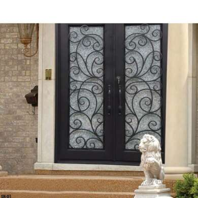 WDMA Pictures Simple Interior Single Double Wrought Iron Gate Front Door Design Prices
