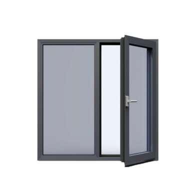 WDMA Price Of Prefabricated Inward opening Aluminum Casement Windows And Doors