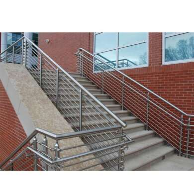 WDMA Safety Aluminium Glass Stair Railing Handrail Price