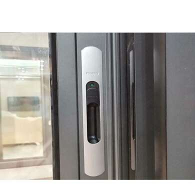 WDMA Shandong Price Of Double Glazed Aluminium Alloy Door And Window Design For Dubai