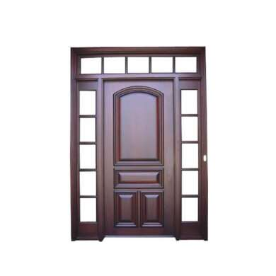 WDMA Solid Wood Front Door With Production Linemodel