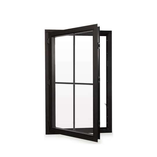 WDMA Sound Proof Doors And Windows Aluminium Guangdong Double Tempered Glass Aluminum Windows