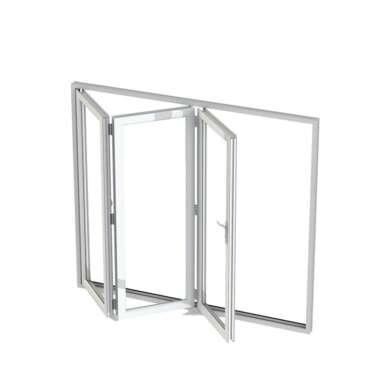 WDMA Soundproof Black Aluminum Double Glazed Opening Folding Balcony Windows And Door Australia Standard