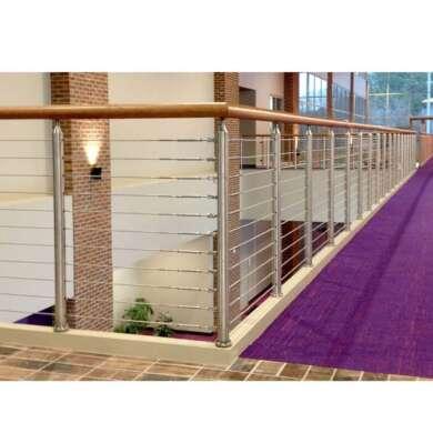 WDMA Stainless Steel Indoor Outdoor Stair Railing Design