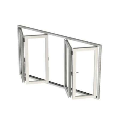 WDMA United States American Style Aluminum Home Corner Transom Folding Window Style Sliding Soundproof