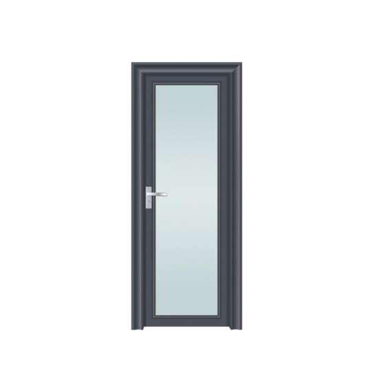 China WDMA interior kitchen swing doors Aluminum Hinged Doors
